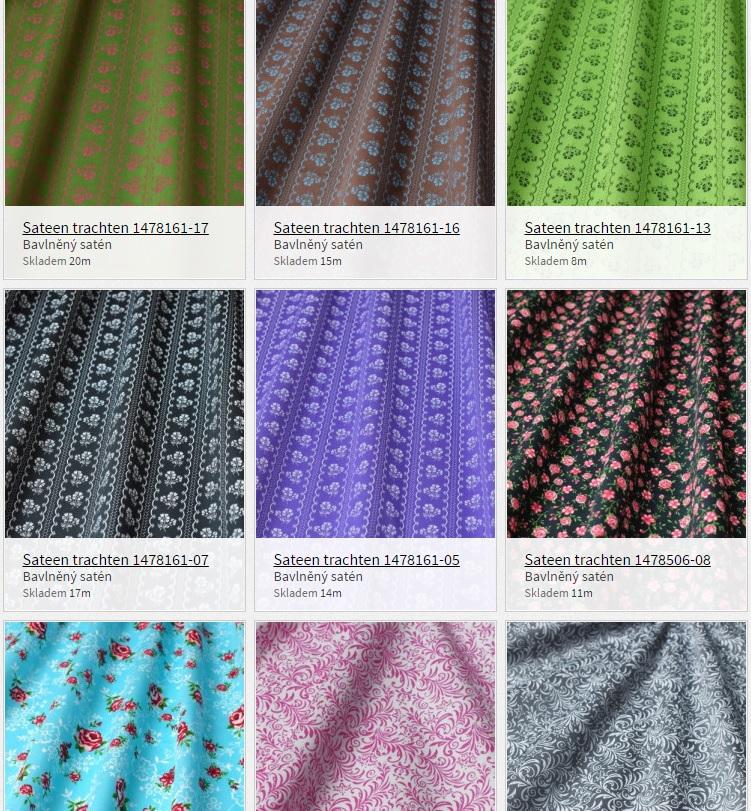 54c4b1ce92fa Nové vzory v nových barvách - Textil.eu