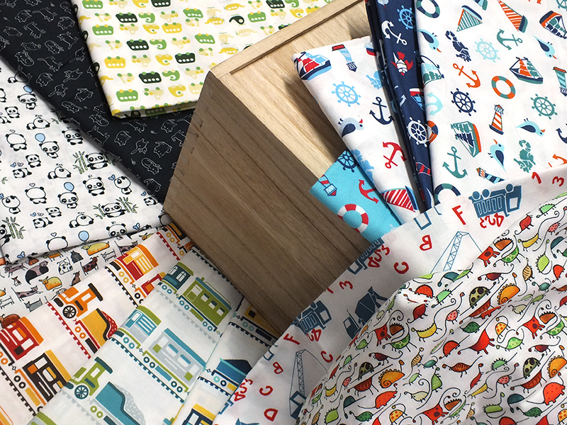 Stylish children's fabrics