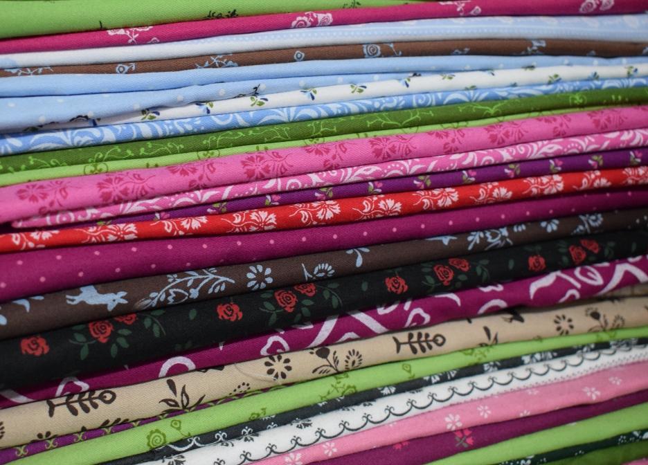 bavlněný satén,saten,bavlna,potištěné látky,tkaniny,výprodej